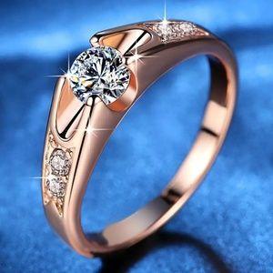 18 k GP Rose Gold Ring
